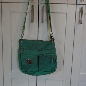 Baggallini Green Over The Shoulder Bag